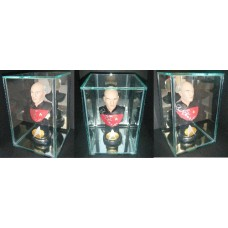 Sir Patrick Stewart AUTOGRAPH Star Trek SIGNED IN PERSON Captain Picard Bust - SOLD OUT