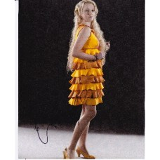Evanna Lynch AUTOGRAPH Harry Potter SIGNED IN PERSON 10x8 photo