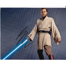 Ewan McGregor AUTOGRAPH Star Wars SIGNED IN PERSON 10x8 photo - SOLD OUT