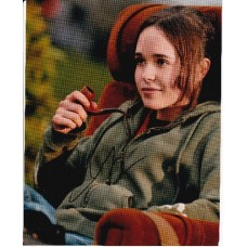 Ellen Page AUTOGRAPH Juno SIGNED IN PERSON 10x8 photo