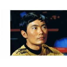 George Takei AUTOGRAPH Star Trek SIGNED IN PERSON 10x8 Photo - SOLD OUT