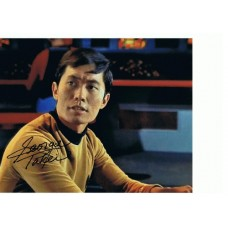 George Takei AUTOGRAPH Star Trek SIGNED IN PERSON 10x8 Photo
