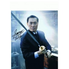 George Takei AUTOGRAPH Heroes SIGNED IN PERSON 10x8 photo