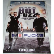 Hot Fuzz Original 1-Sheet Poster