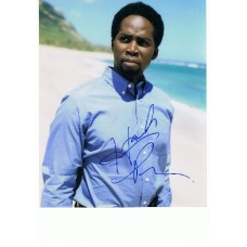 Harold Perrineau AUTOGRAPH Lost SIGNED 10x8 photo