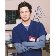 Zach Braff AUTOGRAPH Scrubs SIGNED IN PERSON 10x8 Photo