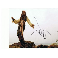 Johnny Depp AUTOGRAPH Jack Sparrow SIGNED IN PERSON 10x8 photo - SOLD OUT