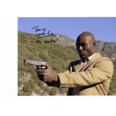 Jimmy Jean Louis AUTOGRAPH Heroes SIGNED IN PERSON 10x8 photo