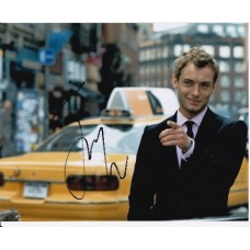 Jude Law AUTOGRAPH Alfie SIGNED IN PERSON 10x8 photo