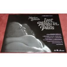 Last Tango In Paris UK Quad