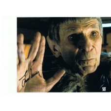 Leonard Nimoy AUTOGRAPH Star Trek SIGNED IN PERSON 10x8 photo - SOLD OUT