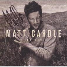 Matt Cardle AUTOGRAPH X Factor SIGNED Letters Album