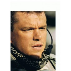 Matt Damon AUTOGRAPH Green Zone SIGNED IN PERSON 10x8 Photo