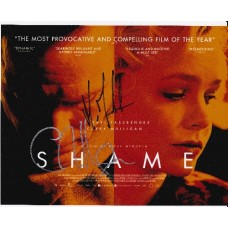 Carey Mulligan & Michael Fassbender AUTOGRAPH Shame SIGNED IN PERSON 10x8 Photo - SOLD OUT