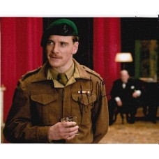 Michael Fassbender AUTOGRAPH Inglorious Basterds SIGNED IN PERSON 10x8 photo
