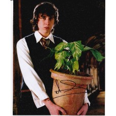 Matthew Lewis AUTOGRAPH Harry Potter SIGNED IN PERSON 10x8 photo
