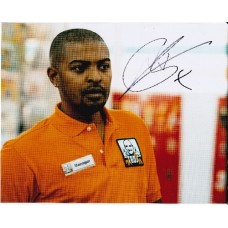 Noel Clarke AUTOGRAPH 4,3,2,1 SIGNED IN PERSON 10x8 photo