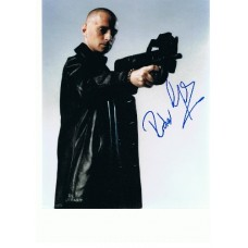 Robert Carlyle AUTOGRAPH James Bond SIGNED 10x8 photo