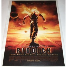 The Chronicles Of Riddick Original 1-Sheet