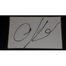 Anna Kendrick AUTOGRAPH Up In The Air SIGNED IN PERSON Index Card Presentation - SOLD OUT
