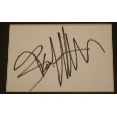 Bruce Willis AUTOGRAPH Die Hard SIGNED IN PERSON Index Card Presentation
