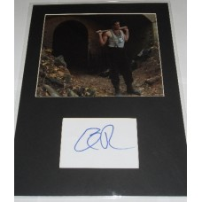 Eli Roth AUTOGRAPH Inglorious Basterds SIGNED IN PERSON Index Card Presentation
