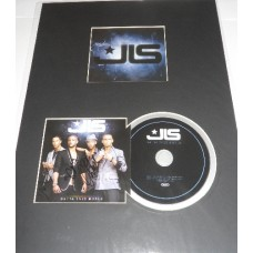 JLS AUTOGRAPH Outta This World SIGNED Album Presenation