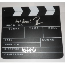 Asif Kapadia / Manish Pandley AUTOGRAPH Senna SIGNED IN PERSON Clapperboard