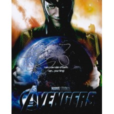 Stellan Skarsgard AUTOGRAPH The Avengers SIGNED IN PERSON 10x8 photo
