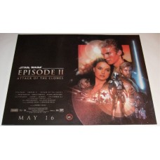 Star Wars Episode II Attack Of The Clones UK Quad