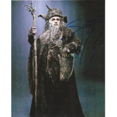 Sylvester McCoy AUTOGRAPH Hobbit SIGNED IN PERSON 10x8 photo