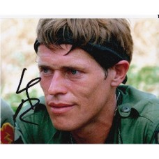 Willem Dafoe AUTOGRAPH Platoon SIGNED IN PERSON 10x8 Photo