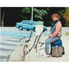 Zach Galifianakis AUTOGRAPH Due Date SIGNED IN PERSON 10x8 Photo